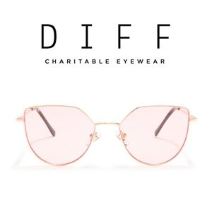 Brand New!  DIFF Eyewear Pixie XL 53mm Sunglasses
